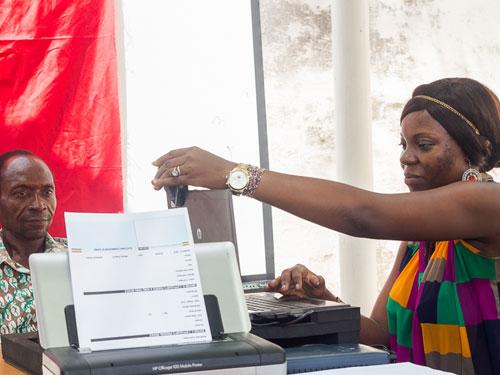 Ghana voter registration 2014