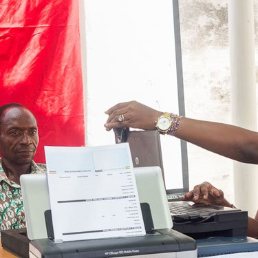 Ghana Voter Registration