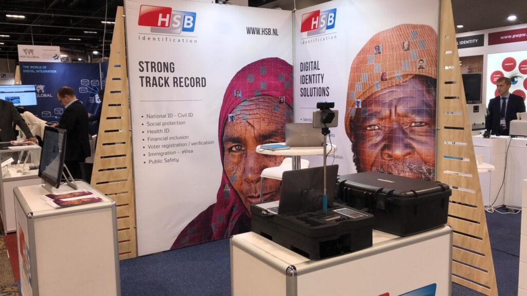 HSB booth at ID4Africa2019