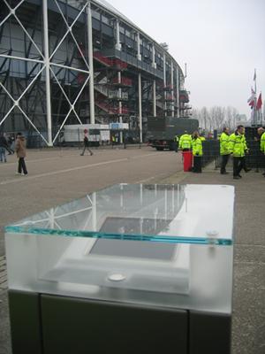 Biométrie pour l'accès au stade